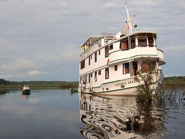 Experiência fluvial na Amazônia